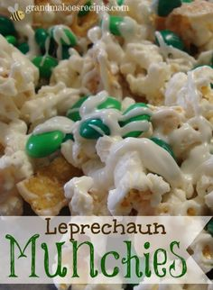 Leprechaun Munchies for St. Patty's Day