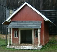 24 Free Dog House Plans: Peaked-Roof, A-Frames, Dog Shelters, Kennels and More! |