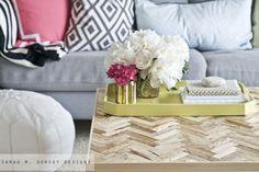 Makeover Trend-Herringbone Sarah M. Dorsey Designs