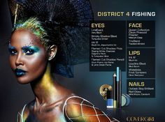 Hunger Games: Catching Fire Makeup Tutorial