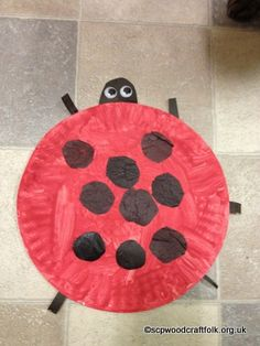 Paper Plate Ladybird Craft Preschooler