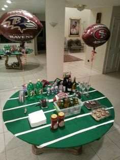 Superbowl party idea