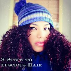 Winter comes with all kinds of weather-induced frustrations, Here are 3 steps to luscious curls this winter and say hello to soft, long shiny hair.
