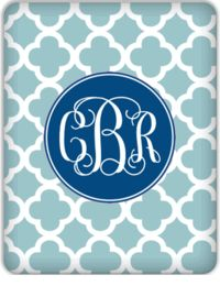Monogrammed IPad cover
