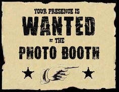 Western theme handmade party invitations - Google Search