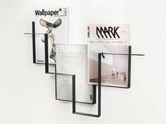sleek magazine rack