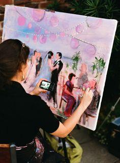wedding artist