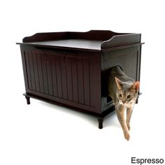 Designer Catbox Litter Box Enclosure | Overstock.com Shopping - The Best Prices on Litter Boxes