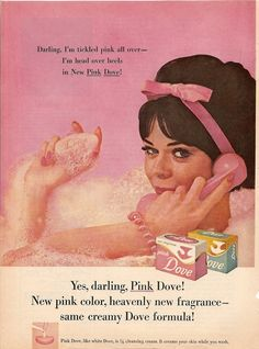 Pink Dove bar soap