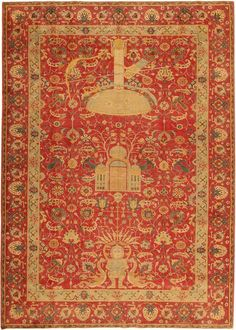 Antique Turkish Rug