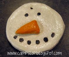Painting and Sealing Salt Dough Ornaments