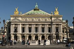 paris, houses, palai garnier, buildings, pari opera, france, architecture, place, opera house
