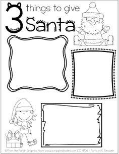 3 things to give Santa freebie