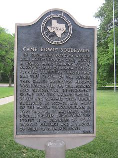 Camp Bowie Boulevard, Fort Worth - THE throughfare to the West Side, much of it paved in those famous red bricks.