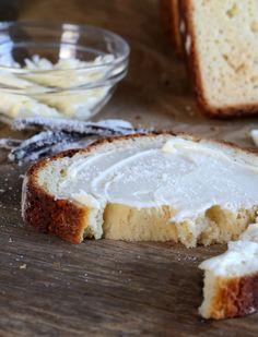 Gluten Free Vanilla Swirl Bread