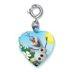 CharmIt Frozen Olaf Locket Charm-$5.00