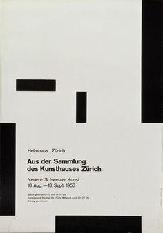 Poster at museum Fur Gestaltung _Zurich