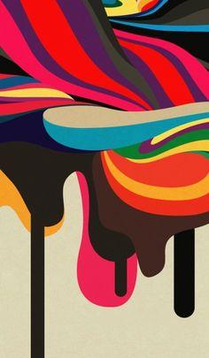 colour, color palettes, fashion chic, graphic designers, colors, digital art, jeremi chenier, inspir, illustr