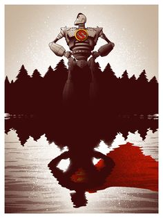 Iron Giant meets Superman!