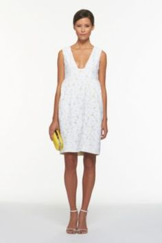DVF | Clydeena Dress in Flower Lace, Spring 2012: Beginnings
