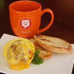 Omelet in a Mug to make in microwave
