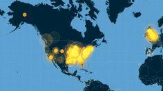 Watch How The #Twitter Conversation Of #Ferguson Spread Across America   FastCompany #Communication #CommunicationArts #CommArts