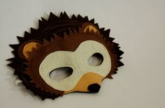 Harry the Nocturnal Hedgehog Mask for Pretend Play Costume