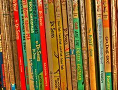 Dr. Suess Books, love them all