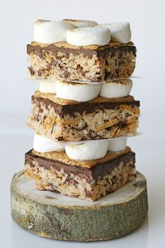 s'mores rice krispies