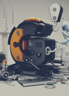 Typography Manufacturing {2014} by omar aqil, via Behance