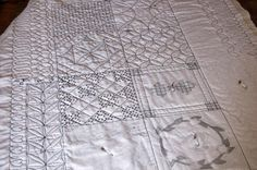 Tutorial on free motion quilting -- I've got to work on my technique!
