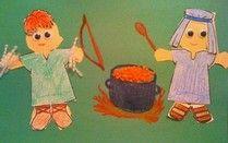Jacob and Esau Craft