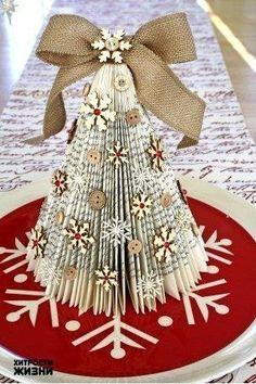 Paper snowflake tree PATTERN