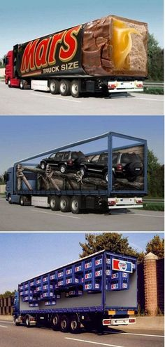 Brilliant truck wrap