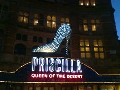 Priscilla Queen of the Desert <3 London - We miss you!