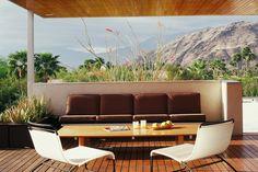 kaufmann house palm springs (r.neutra)  outdoor entertaining  desert modernism