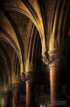 The Cathedral of Saint Colman in Cobh, County Cork, Ireland ~ Photo by Janusz Leszczynski