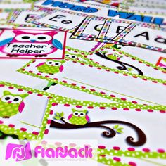 http://www.teacherspayteachers.com/Product/Owl-Themed-Classroom-Materials-Pack-255836  (a bunch of owl themed freebies - I really like the owl mustache bookmark).