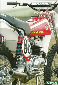 Bultaco Vintage Race Bike