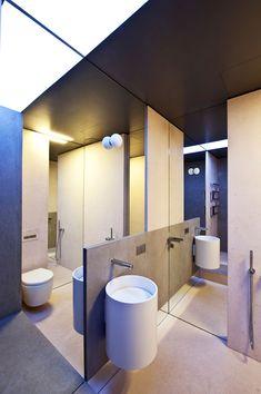 Apartment Awash with Walnut & White - #home #house #interiordesign #design #HomeDecoration #decorating #interiordecorating #idea
