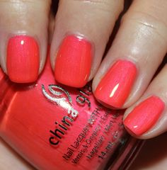 China Glaze Summer Neons '12 - Flirty Tankini
