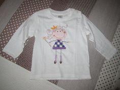 """""""TELA MARINERA"""", patchwork ...: Aplicacions en samarretes"""