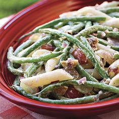 Green Bean, Grape, Pasta Salad