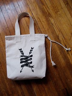 LITTLE EDIE Ride Free Canvas Tote