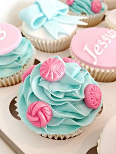 Button Cupcakes by Heavenly-Cupcakes