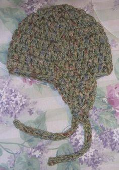 Suzies Stuff: SUZIE'S 2 STRAND EARFLAP HAT (C)