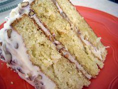 Aaahhh...one of my favorites, Italian Cream Cake