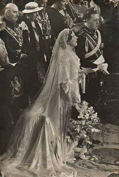 Hochzeit Prinzessin Juliana der Niederlande mit Prinz Bernhard von Lippe-Biesterfeld