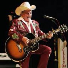 Little Jimmy Dickens-as of 2012, the longest running Opry member