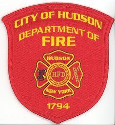 Hudson Fire Department Patch